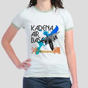 Kadena AB New Design Jr. Ringer T-Shirt
