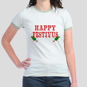 Happy FESTIVUS™ Jr. Ringer T-Shirt