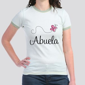 Abuela Grandmother Jr. Ringer T-Shirt