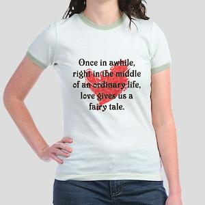 Fairy Tale Love Jr. Ringer T-Shirt