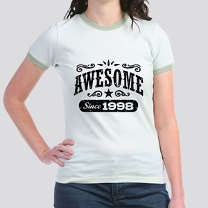 Awesome Since 1998 Jr. Ringer T-Shirt