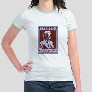 Twain - Patriotism Jr. Ringer T-Shirt