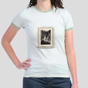 Cousins and Childhood Jr. Ringer T-Shirt