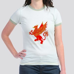 Gryphon Red Gold Jr. Ringer T-Shirt