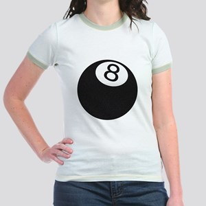 Riyah-Li Designs 8 Ball Jr. Ringer T-Shirt