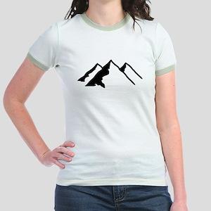 Mountains Jr. Ringer T-Shirt