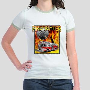 LADDER TRUCK Jr. Ringer T-Shirt