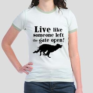 OPEN GATE Jr. Ringer T-Shirt