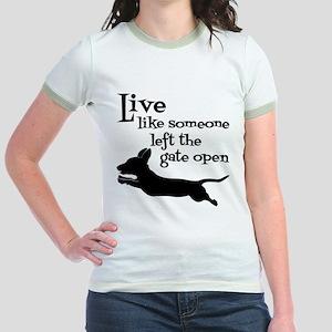 OPEN GATE! Jr. Ringer T-Shirt