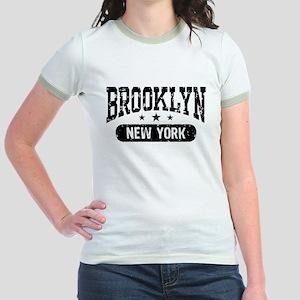 Brooklyn New York Jr. Ringer T-Shirt