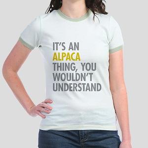 Its An Alpaca Thing Jr. Ringer T-Shirt