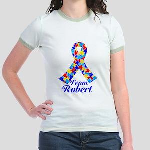 Custom Autism Jr. Ringer T-Shirt
