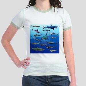 Shark Gathering Jr. Ringer T-Shirt