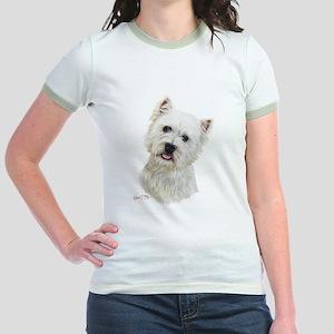 West Highland White Terrier Jr. Ringer T-Shirt