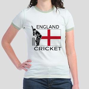 England Cricket Jr. Ringer T-Shirt