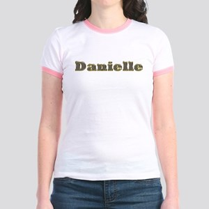 Danielle Gold Diamond Bling T-Shirt