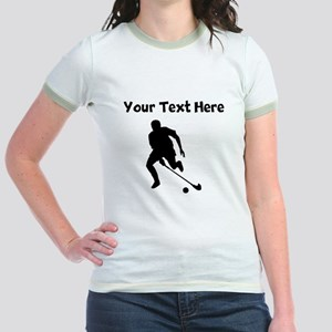 Field Hockey Player Silhouette T-Shirt
