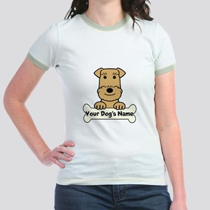 Personalized Airedale Jr. Ringer T-Shirt