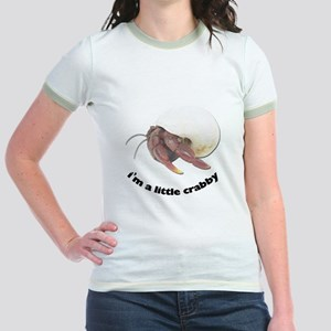 Hermit Crab Photo Jr. Ringer T-Shirt