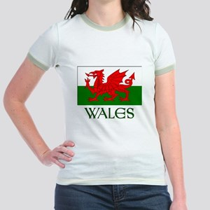 For the love of Wales! Jr. Ringer T-Shirt