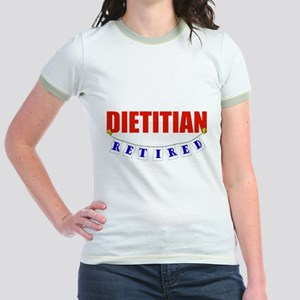 Retired Dietitian Jr. Ringer T-Shirt