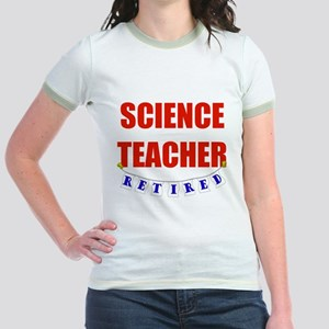 Retired Science Teacher Jr. Ringer T-Shirt