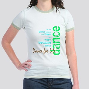 Dance for Life 1 Jr. Ringer T-Shirt