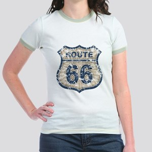 Route 66 Bluetandist Jr. Ringer T-Shirt