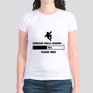 Parkour Skills Loading Jr. Ringer T-Shirt