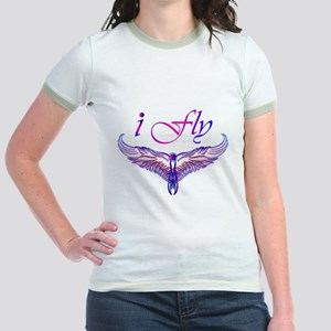 I believe I can fly, iFly Jr. Ringer T-Shirt