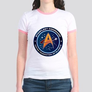 Star Trek Federation Of Planets Patch Jr. Ringer T