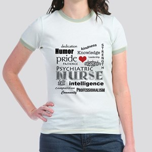 Psychiatric Nurse Pride/Attributes+Red Heart T-Shi