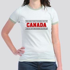 'Girl From Canada' Jr. Ringer T-Shirt