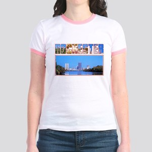 Rochester New York Greetings Jr. Ringer T-Shirt