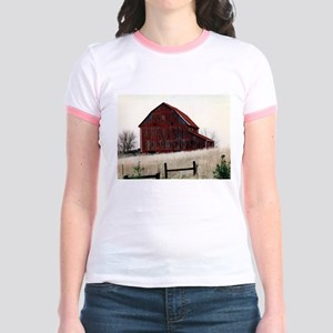 American Barns No.3 Jr. Ringer T-Shirt