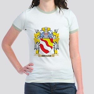 Brewer Coat of Arms - Family Crest T-Shirt