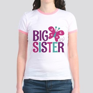 Butterfly Big Sister T-Shirt