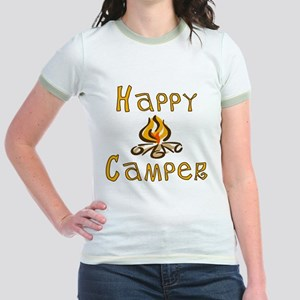 Happy Camper Jr. Ringer T-Shirt