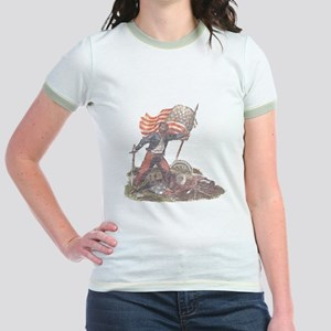Civil War Patriot Jr. Ringer T-Shirt