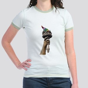 hand_and_torch T-Shirt