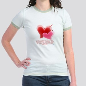 Hearts - Made My Life Better Jr. Ringer T-Shirt