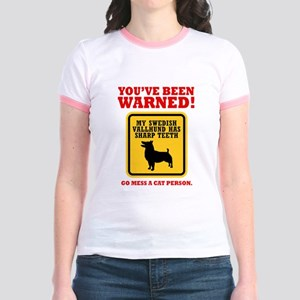 Swedish Vallhund Jr. Ringer T-Shirt