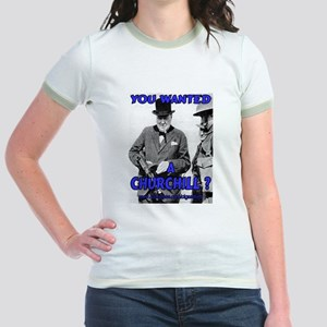 Winston Churchill Cigar Jr. Ringer T-Shirt