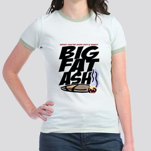BigFatAsh! Jr. Ringer T-Shirt