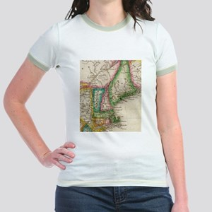 Vintage Map of New England (1822) T-Shirt