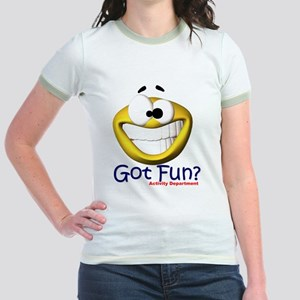 Got Fun? Activity Department Jr. Ringer T-Shirt