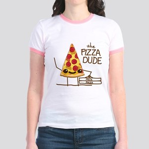 The Pizza Dude Jr. Ringer T-Shirt