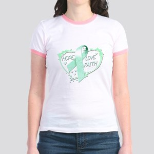 Hope Love Faith Jr. Ringer T-Shirt