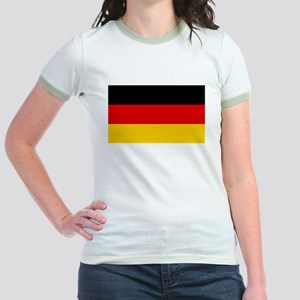German Flag Jr. Ringer T-Shirt