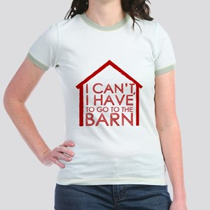 To The Barn Jr. Ringer T-Shirt